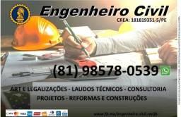 Engenheiro Civil: serviços, obras, consultoria e construções