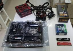 Memória Ram Kingston Hyperx Fury 2x8gb Ddr4 2400mhz Preto e Vermelho