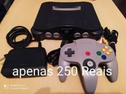 Nintendo 64 impecável