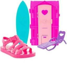 Sandália Barbie Dreamhouse n. 29 Nova