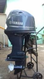 Motor de popa yamaha 60hp 2015 muito conservado - 2015