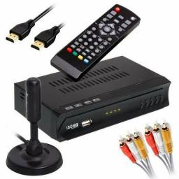 Kit Conversor Digital + Antena (entrega grátis)