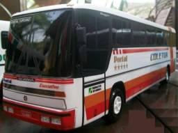 Raridade miniatura do ônibus Coletur de Itajaí - SC