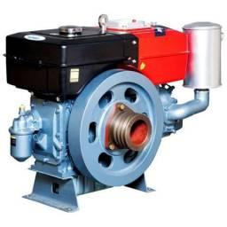 Motor a Diesel 16,5HP 903 cc com Sifão para Barcos - Toyama TDW18D2 (refirig. a água)