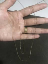 Cordão ouro 18