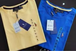 Camiseta Ralph Lauren femininas básicas atacado