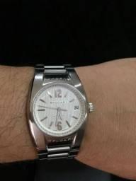 67fc0eaa297 Relógio Bvlgari Ergon Automático Safira Novo Zero de 15 mil por 7990