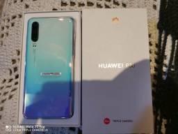 P30 aurora lindo lançamento Huawei novo trco