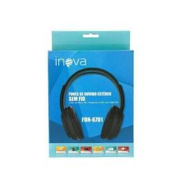 Fone De Ouvido Inova Fon-6701 Bluetooth, Cartão