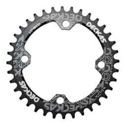 Coroa de bike bcd 104 única 32 dentes