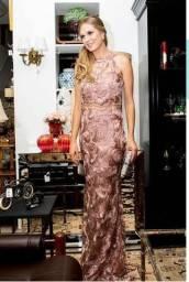 Vestido rosê muito conservado, lindo