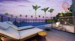 Apartamento com 1 dormitório à venda, 27 m² por R$ 353.191,64 - Cruz das Almas - Maceió/AL