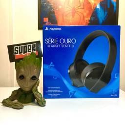 Headset S/ Fio 7.1 Sony PlayStation 4/ PC NOVO