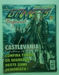 Revista Antiga Gamers Especial 25 Castlevania Symphony Night