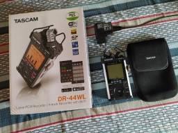 Gravador Tascam Dr44wl com wifi