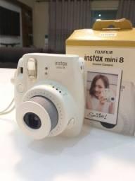 Camera foto instantânea (Fujifilm Instax mini 8)