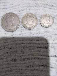 Série completa de moedas 1901