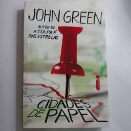Livro Cidades de papel