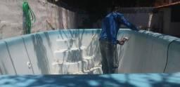 Revitalização de piscina