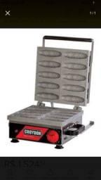 Máquina de dez crepes no palito croydon