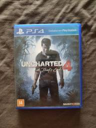 Jogos PS4 - Uncharted 4