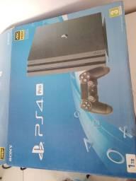 PS4 PRO 1TB + Acessórios  + 18 Jogos
