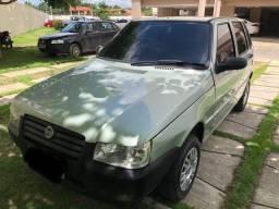 Fiat uno mille 2008 - Ar condicionado gelando