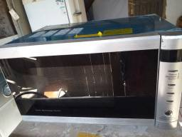 Microondas com grill em inox!!! Novo!!! 220 volts!!!