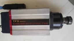 Motor Spindle de Alta Freqüência TecMaf Linha TFS Modelo 4A3M 01