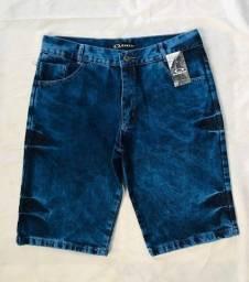 bermuda jeans atacado