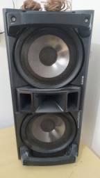 Duas caixas de som sony