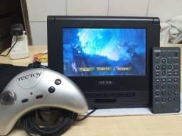 DVD MOBILE GAME TECTOY MODELO T6000
