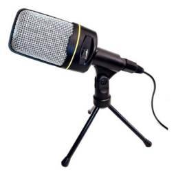 Microfone De Mesa Inova Mic-8641 Profissional Condensador
