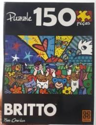 Quebra Cabeça Romero Brito Mias Garden 150 Peças - Grow