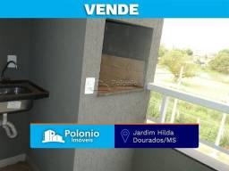 Apartamento à venda com 2 dormitórios em Jardim hilda, Dourados cod:1274
