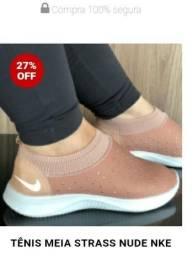 Tênis Meia Strass Nude Nike