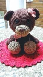Urso amigurumi