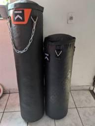 SACO DE PANCADA OUTSHOCK DE 30KG E 20 KG