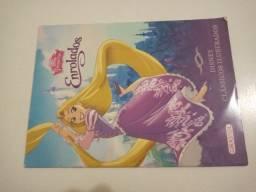 Livro Rapunzel enrolados.