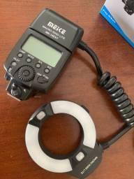 Ring Flash macro - flash circular para Canon e Nikon