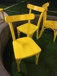 Cadeiras de madeiras