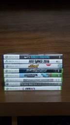 São 8 jogos originais para Xbox 360