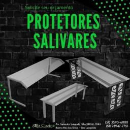 Título do anúncio: Protetores salivares para buffet em São Leopoldo
