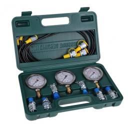 Maleta de teste hidraulico Manômetro
