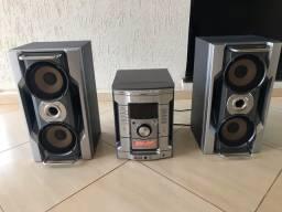 Vendo aparelho som Sony modelo MHC-GN900 550W RMS
