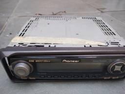Rádio toca cd Pioneer + falantes