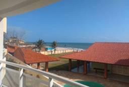 Novo AP com vista frontal Mar na praia do Cumbuco