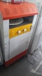 Carrinho com forno pra pizza com garantia a gás