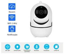 Excelente Câmera Varredura Wi-Fi, Possui Detecção De Movimento