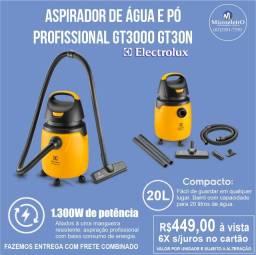 Aspirador de Água e  Pó Profissional  Gt3000 GT30N